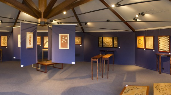 Exhibition at Bungendore Wood Works Gallery, 2011